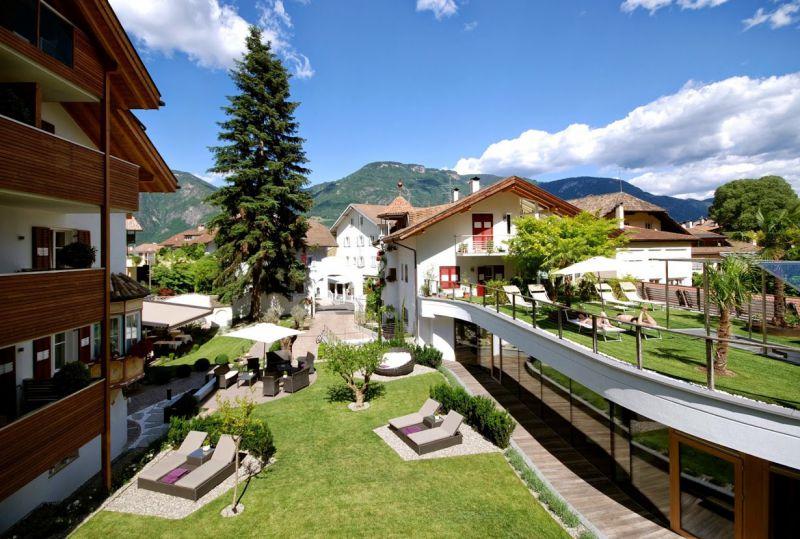 Boutique hotel zum rosenbaum nals 4 sterne hotel for Meran boutique hotel